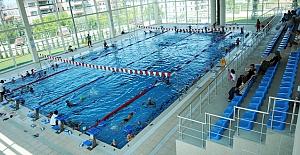 Konak Olimpik Yüzme Tesisleri'nde tadilat