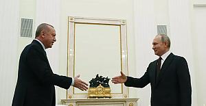 """Putin: """"Rusya ve Türkiye'nin pozisyonları her zaman örtüşmüyor, fakat diplomasi sanatı uzlaşma sağlamaktır"""""""