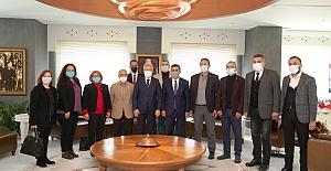 Selçuk Türkoğlu'ndan Başkan Turgay Erdem'e ziyaret