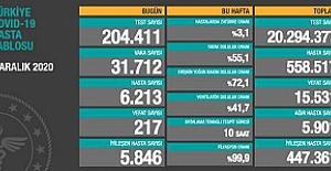 Bakan Koca: Sağlık çalışanları arasındaki vaka sayısı 12 bini geçti, 216'sı hayatını kaybetti