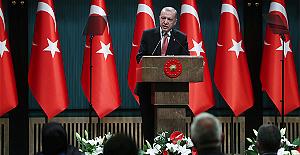 """Cumhurbaşkanı Erdoğan: """"Her şeyi kendimizin üretimi olan ilk haberleşme uydumuzu inşallah 2022'de uzaya gönderiyoruz."""""""