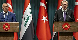 """Erdoğan: """"Ne Türkiye'nin ne Irak'ın ne de Suriye'nin geleceğinde bölücü teröre asla yer yoktur"""""""