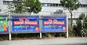 İBB'nin Kanal İstanbul aleyhindeki afişleriyle ilgili soruşturmaya gerek görülmedi