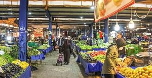 Karacabey pazar yerlerinde karantina düzenlemesi