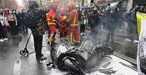 Paris'te Küresel Güvenlik Yasası'na karşı protesto: 50 gözaltı