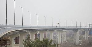 Ukrayna'da 55 yıldır planlanan o köprüyü, Türk firması 8 ayda faaliyete geçirdi