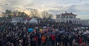 Boğaziçi Üniversitesi öğrencileri bu defa da Kadıköy'de toplandı