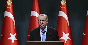 """Cumhurbaşkanı Erdoğan: """"Perşembe ya da cuma aşılama başlayacak"""""""