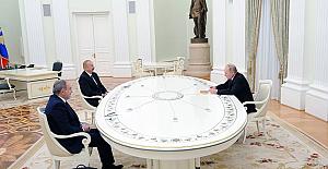 Dağlık Karabağ'da ateşkesin ardından Putin, Aliyev ve Paşinyan ilk kez bir araya geldi: Görüşme 4 saat sürdü