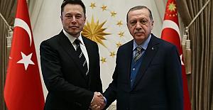 Erdoğan, (Tesla ve SpaceX'in kurucusu) Elon Musk ile telefon görüşmesi gerçekleştirdi