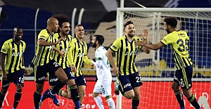 Haftanın kapanış maçında: Fenerbahçe 2 - 1 Aytemiz Alanyaspor