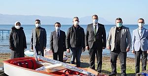 """İznik Gölü'nde 30 yıldan sonra """"Optimist Yelken Sporu"""" yeniden başlatılıyor"""