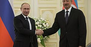 Putin, Aliyev ile Rus - Türk Ortak Merkezi'nin açılışını görüştü