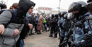 Rusya'daki protestolarda '4 binden fazla kişi gözaltına alındı'