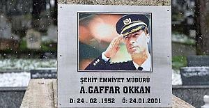 Şehit Emniyet Müdürü Gaffar Okkan katledilişinin 20. yılında anılıyor