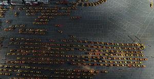 Taksici Esnafın Taksimetre Cihazı Güncelleme Çilesi 3. gün devam ediyor