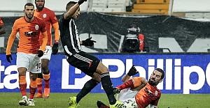 Yılın ilk derbisinde zafer Beşiktaş'ın: 2-0