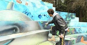 Başkent parkları grafitti sanatçılarına açıldı