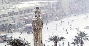 Meteoroloji'den İzmir için kar ve fırtına uyarısı