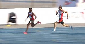 Nilüferli Milli atletten rekor ve olimpiyat A kotası