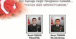 Pençe Kartal-2 Harekatında 2 Askerimiz Şehit, 4 Askerimiz Yaralı..