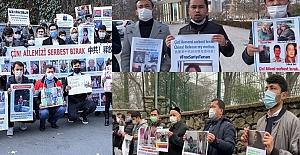 Uygur Türkleri, Ankara ve İstanbul'da aile nöbetine devam ediyor