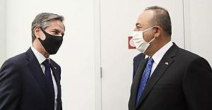 ABD Dışişleri Bakanı Blinken ile bir araya gelen Çavuşoğlu: S-400 işinin bittiğini bir kez daha söyledik