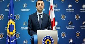 Gürcistan Başbakanı'ndan ülkesinin toprak bütünlüğünü destekleyen Türkiye'ye teşekkür