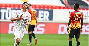 Haftanın 8 gollü maçı: Göztepe (3) - Sivasspor (5)