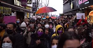 İstanbul Sözleşmesi'nden çekilme kararı protesto edildi: 'Vazgeçmiyoruz'