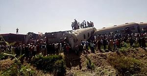 Mısır'da tren kazası: 32 ölü, 66 yaralı