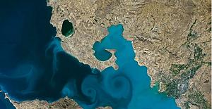 """NASA'nın """"Dünya Turnuvası"""" yarışmasında Van Gölü fotoğrafı yarı finale ulaştı"""