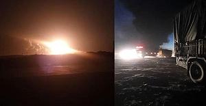Suriye'ye füze saldırısı!