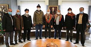 Yörük Türkmen Derneği'nden Başkan Erdem'e ziyaret