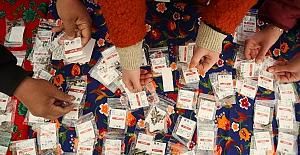 15 bin paket yerel tohum vatandaşla buluştu