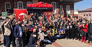 23 Nisan Yasağına 'Nutuk'lu Protesto!