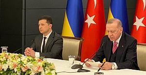 """Erdoğan-Zelenskıy görüşmesi: """"Kırım Platformunu destekliyoruz"""""""
