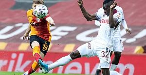 Galatasaray: 1 - Trabzonspor: 1
