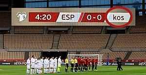 İspanya'dan Kosova'ya saygısızlık! Ülkenin adını küçük harfle yazdılar