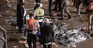 İsrail'de bayram kutlamalarında sahnenin çökmesi sonucu 44 kişi öldü, 103 kişi yaralandı