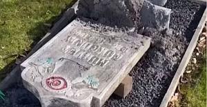 İsveç'te Müslüman mezarlığına çirkin saldırı!