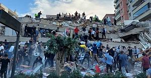 İzmir'deki depremde yıkılan binalarla ilgili 22 gözaltı kararı