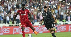 Lider Beşiktaş, Sivas'ta 2 puan bıraktı