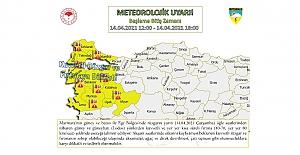 Meteoroloji'den Marmara ve Ege için kuvvetli fırtına uyarısı