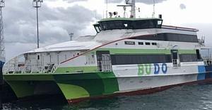 Mudanya - İstanbul BUDO  seferlerine ara verildi
