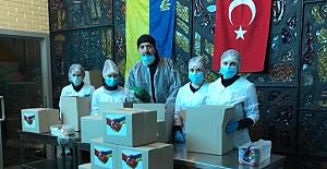 Ukrayna'daki Türk iş insanlarından, Kıyiv merkezli anlamlı bir yardım kampanyası daha