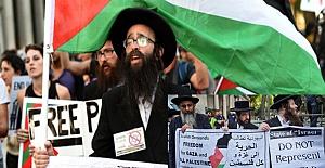 ABD'de Filistin'e destek gösterisi: Filistinli çocukların bombalanması herkesi rahatsız etmeli!