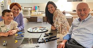 Meral Akşener'den farklı bayram kutlaması: Mesajını evinin mutfağından verdi