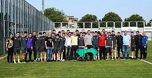 Bursaspor, Keçiörenspor karşılaşmasına hızla hazırlanıyor
