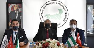 Dündar'dan Batı Trakya Türkleri'ne Destek
